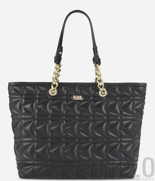 b016dc2a86de Сумка шоппер Karl Lagerfeld Kuilted в стеганной коже черная - купить ...