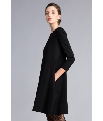 Платье трапеция TWIN-SET PA821U черное