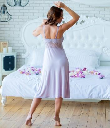 Женская ночная рубашка Effetto 0267 лиловая