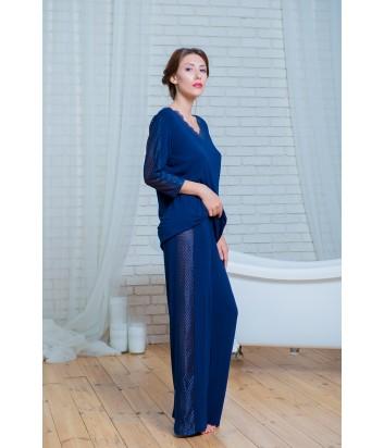 Женская пижама Effetto 0262 синяя