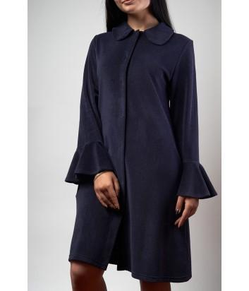 Женский халат Effetto 0509 свободного кроя с длинным рукавом в различных цветах