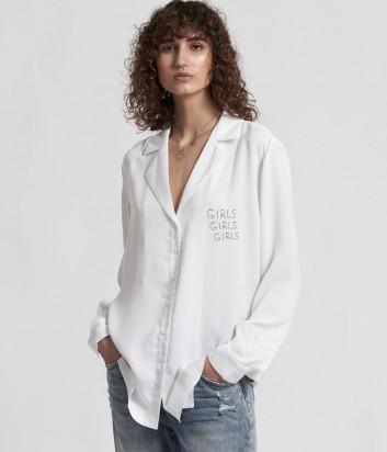 Легкая рубашка One Teaspoon 21453 белая
