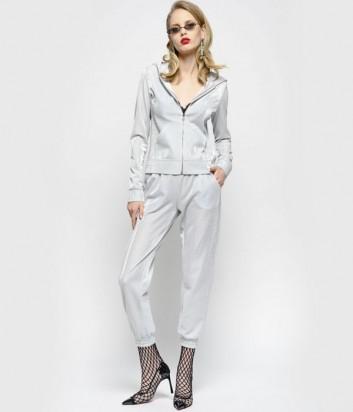 Серый костюм PINKO 1C102W с принтом на спине