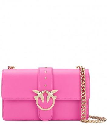 Сумка на цепочке PINKO Love Bag 1P212TY в гладкой коже цвета фуксия