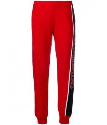 Красные спортивные штаны ICEBERG 7604 с логотипом
