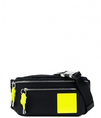Нейлоновая поясная сумка Karl Lagerfeld 91KW3086 с неоновыми вставками