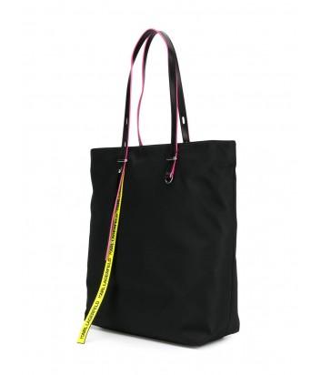 b4705857d427 ... Черная нейлоновая сумка-шоппер Karl Lagerfeld 91KW3084 с неоновыми  вставками ...