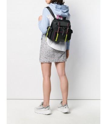 Черный нейлоновый рюкзак Karl Lagerfeld 91KW3083 с неоновыми вставками