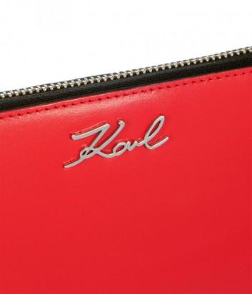27a3fb24dab7 ... Портмоне на молнии Karl Lagerfeld 86KW3210 в гладкой коже красное ...