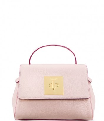 Компактная кожаная сумочка Tosca Blu TS19LB172 нежно-розовая