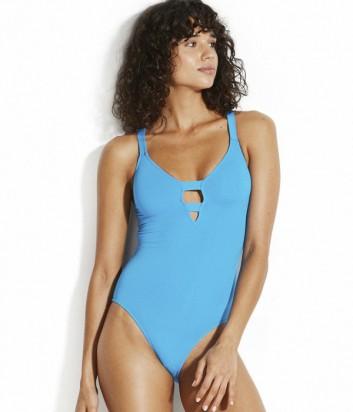 Цельный купальник Seafolly 10634-058 голубой