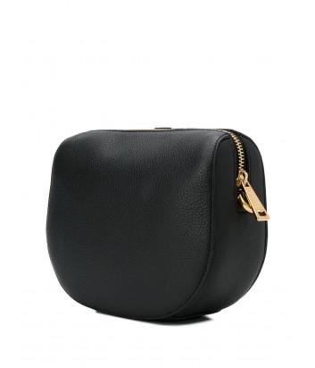 5c7c0f61f368 Кожаная сумка через плечо Furla Gioia 1007618 черная - купить в ...