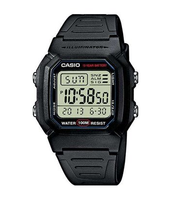 Часы Casio Collection W-800H-1AVES