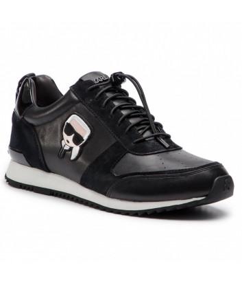 Мужские кроссовки Karl Lagerfeld Ikon комбинированные черные