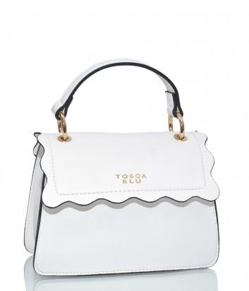 Компактная сумка Tosca Blu TS1935B43 с откидным клапаном белая