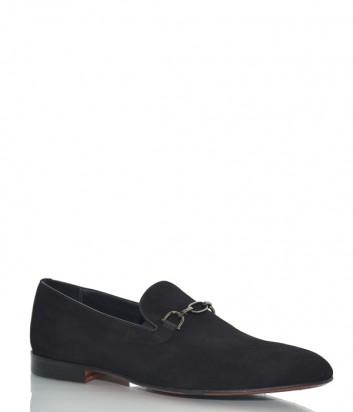 Мужские замшевые туфли Mario Bruni 197 черные