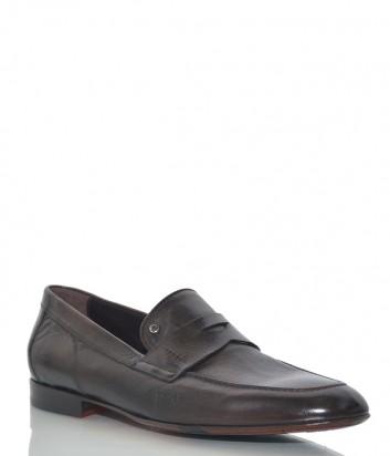 Кожаные туфли Mario Bruni 202 коричневые