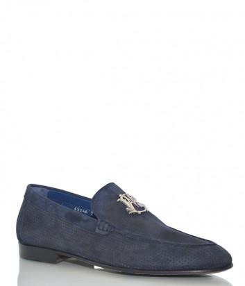 Замшевые туфли Mario Bruni 246 синие