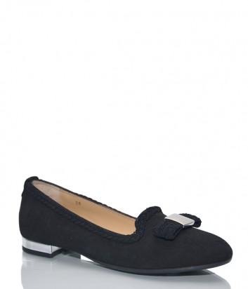 Замшевые туфли Norma J. Baker 2188 черные