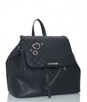 Рюкзак-сумка Love Moschino JC4076 с диагональной молнией черный