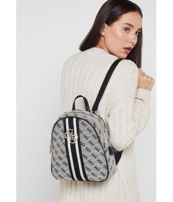 Текстильный рюкзак Guess 4320 с монограммой бренда черный