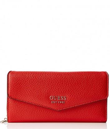 Красное портмоне Guess 3620 с множеством отделений