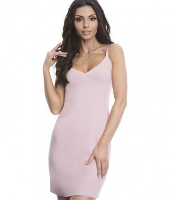 Гладкая комбинация под платье Julimex Soft&Smooth пудровая