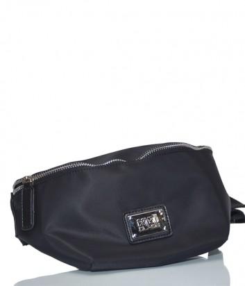 Поясная сумка Cavalli Class Tunder черная
