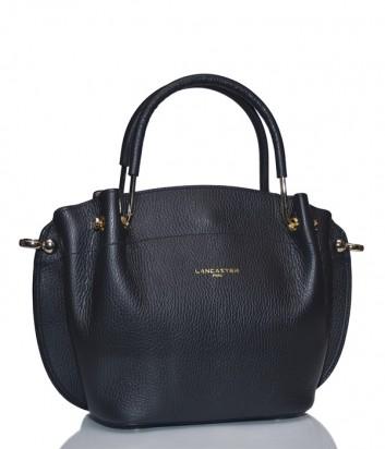 Кожаная сумка Lancaster 470-18 черная