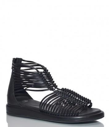 Кожаные сандалии Fru.it 5561 черные