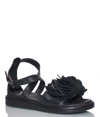 Кожаные сандалии Fru.it 5545 черные