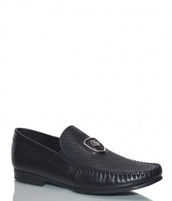 Черные туфли Baldinini 997072 в перфорированной коже