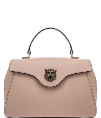 Кожаная сумка Tosca Blu 191B183 бежевая