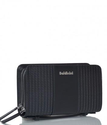 Кожаная барсетка Baldinini 960012 черная