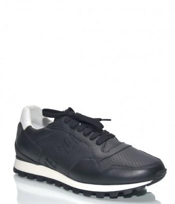 Кожаные кроссовки Dirk Bikkembergs 108961 черные
