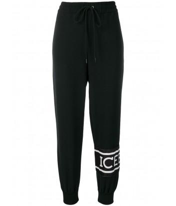 Черные спортивные брюки ICEBERG 715267 с логотипом
