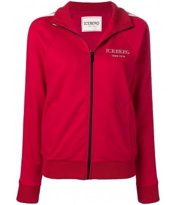 Красная олимпийка ICEBERG 616312 с логотипом