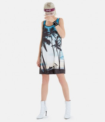 Платье ICE PLAY H091P462 с принтом в пайетках