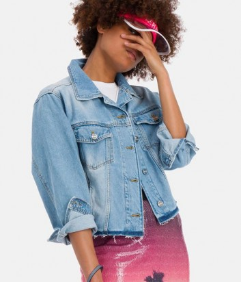 Джинсовая куртка ICE PLAY O0616016 голубая
