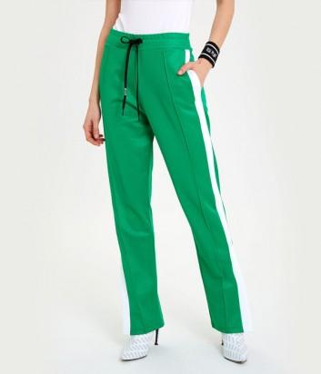 Спортивные брюки ICE PLAY B101P453 зеленые с логотипом