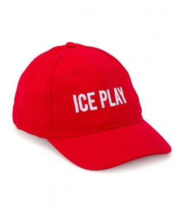 Кепка ICE PLAY 71006923 красная с логотипом