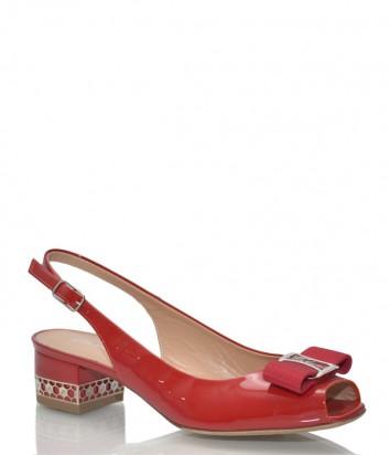 Лаковые босоножки Marino Fabiani 1067 красные
