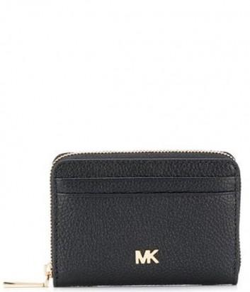 Женский кошелек Michael Kors 32T8GF6Z1L черный с золотой фурнитурой