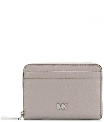 Женский кошелек Michael Kors 32T8SF6Z1L серый с серебристой фурнитурой