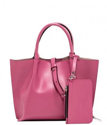 Сумка-шоппер Gianni Chiarini 6107 в гладкой коже розовая