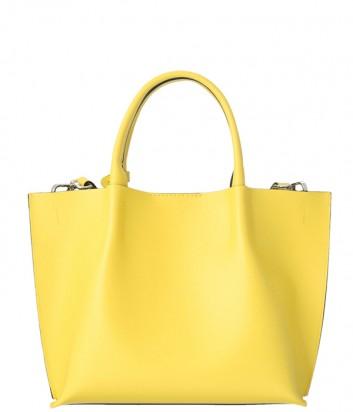 Сумка-шоппер Gianni Chiarini 6107 в гладкой коже желтая