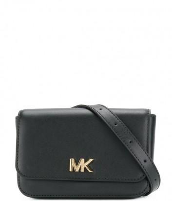 Поясная сумка Michael Kors Mott в гладкой коже черная