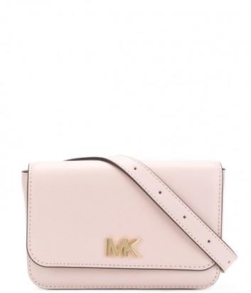 Поясная сумка Michael Kors Mott в гладкой коже нежно-розовая