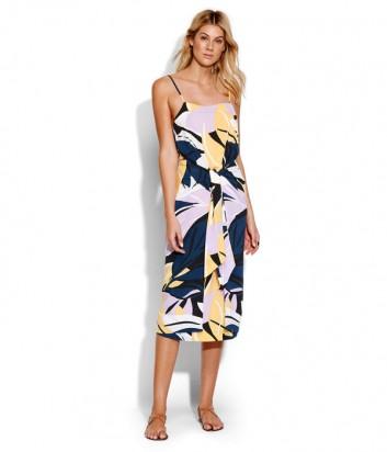 Платье Seafolly 53518-DR синее с принтом