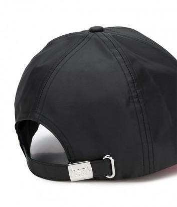 Черная кепка Karl Lagerfeld 91KW3413 с неоновыми вставками